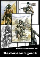 Barbarians 5 pack