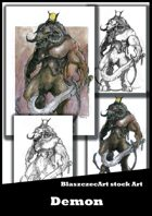 BlaszczecArt Stock Art: Demon