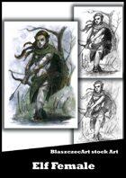 BlaszczecArt Stock Art: Elf Female