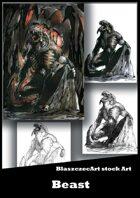 BlaszczecArt Stock Art: Beast 1