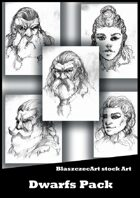 BlaszczecArt Stock Art: Dwarfs Pack