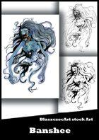 BlaszczecArt Stock Art: Banshee