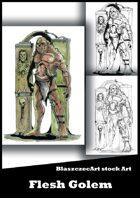 BlaszczecArt Stock Art: Flesh Golem