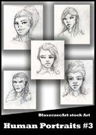 BlaszczecArt Stock Art: Humans Pack #3