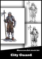 BlaszczecArt Stock Art: City Guard