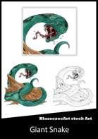 BlaszczecArt Stock Art: Giant Snake