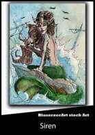 BlaszczecArt Stock Art: Siren / Mermaid