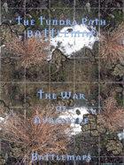 The Tundra Path | Battlemap - The War of Auraspure
