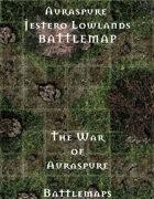 Jestero Lowlands | Battlemap - The War of Auraspure
