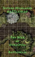 Jestero Highlands | Battlemap - The War of Auraspure