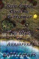 Reju Furra Coastal Battlemap | Battlemap - The War of Auraspure