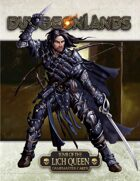 Dungeonlands: Tomb of the Lich Queen Gamemaster Cards & Tables (Savage Worlds)
