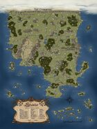 Shaintar Poster Map (Full Color)