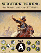 Western Tokens - Set A