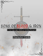 Sons of Blood & Iron: Character card template