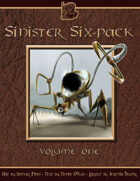 Sinister Six-Pack - A Fully-Illustrated Miniature Bestiary