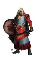 Warrior Guy with Sword - RPG Stock Art