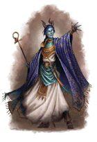 Female Demonkin - RPG Stock Art