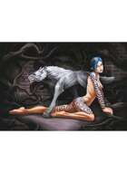 Werewolf Woman - RPG Stock Art