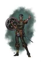 Swashbuckler Male - RPG Stock Art