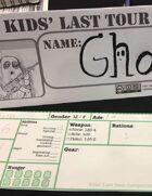 Kids' Last Tour Table Tent Card
