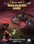 Kings of War the Roleplaying Game Quickstart (5E)