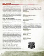 Devil's Run the Roleplaying Game GM Screen & Booklet (2d20)