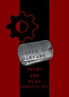 RAZE: Lords of Warfare P&P -- Complete Set