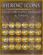 Heroic Icons: Gold & Silver