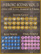 Heroic Icons Volume 3 [BUNDLE]