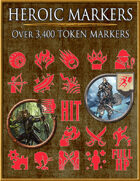 Heroic Markers: Red