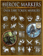 Heroic Markers: Silver