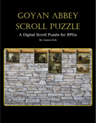 Goyan Abbey Scroll Puzzle