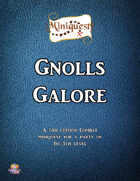 Miniquest! - Gnolls Galore