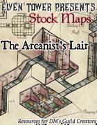 Arcanist's Lair - Stock Map