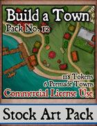 Build a Town - Stock Art
