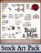 Build a Mine - Stock Art