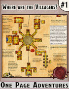 Where are the Villagers? - One Page Dungeon