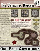 The Unresting Knights - One Page Adventure
