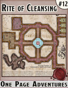 Rite of Cleansing - One Page Adventure