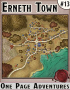 Erneth Town - One Page Adventure