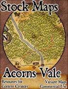 Acorns Vale - Stock Map