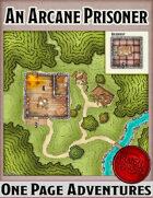 An Arcane Prisoner - One Page Adventure