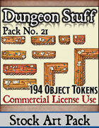 Dungeon Stuff and Objects - Stock Art