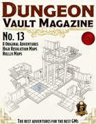 Dungeon Vault Magazine - No. 13