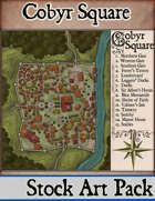 Elven Tower - Cobyr Square | Stock City Map