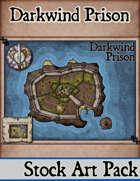 Elven Tower - Darkwind Prison | Stock Battlemap