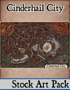 Elven Tower - Cinderhail City | Stock City Map