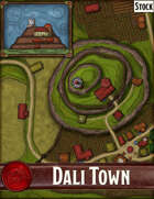 Elven Tower - Dali Town | Stock City Map