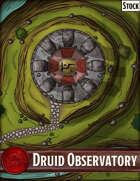 Elven Tower - Druid Observatory | 26x20 Stock Battlemap